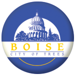 Boise (Idaho) Flag 58mm Fridge Magnet